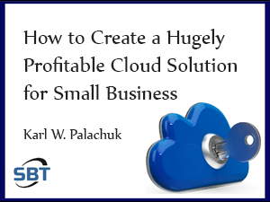 How to Create a Hugely Profitable Cloud Solution for Small Business